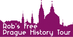 Rob's free Prague History Tour